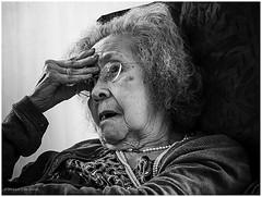 Old age, dementia (Luc V. de Zeeuw) Tags: netherlands utrecht oldage ijsselstein