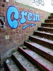 Crem / FNO - 20 dec 2015 (Ferdinand 'Ferre' Feys) Tags: streetart graffiti belgium belgique belgië urbanart graff ghent gent gand graffitiart urbex arteurbano artdelarue crem urbanarte
