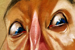 Terror (Giancarlo Vetrone) Tags: face graffiti pain eyes fear murals occhi terror murales abruzzo laquila dolore volto paura terrore abruzzoaquilano