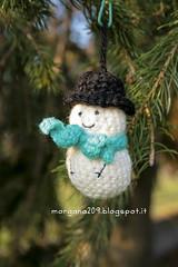 AmigurumiXmas_02w (Morgana209) Tags: christmas tree lana reindeer snowman handmade amigurumi albero pino natale pupazzo renna creatività alberello natalizzi natale2015