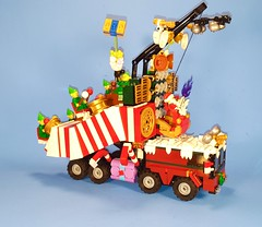 20151220_123723 (Keith_Reed) Tags: santa christmas xmas music max wagon elfs drums santas lego sonic parade rocking mad madam madmax speakers doof cannons legodrums madmaxlego doofwagon