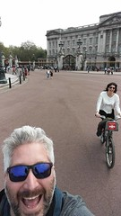 cycling in buckingham palace
