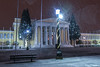 GREECE-WEATHER-SNOW (X-Andra) Tags: center greek zappion athens cold greece heavy park snow snowfall winter zappeion attica grc
