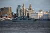 Farewell to Liverpool (Roy Lowry) Tags: liverpool hmsliverpool rivermersey threegraces liverbuilding cunardbuilding portofliverpoolbuilding