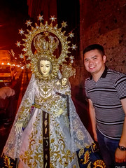 Myself with the Nuestra Señora de Caridad de Bantay (Ilocos Sur) (Fritz, MD) Tags: intramurosgrandmarianprocession2016 igmp2016 igmp intramuros intramurosmanila manila marianprocession grandmarianprocession marianevents cityofmanila procession prusisyon intramurosgrandmarianprocession nuestraseñoradecaridaddebantay apocaridad bantayilocossur nuestraseñoradecaridad