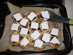 Making Catmas pinwheels! (Rain Rabbit) Tags: catmas pinwheels mincemeat vegan cinnamon marzipan icing