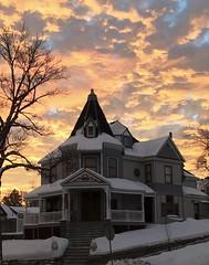 Sunrise in Helena,Montana. (montanatom1950) Tags: sunrise helena montana helenamontana