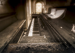 If you've lost your faith in love and music then the end won't be long... (marco18678) Tags: nikon d750 tamron 1530 decay decayed urbex urban ue urbanexploring exploring europe world window stained old oldfashioned organ mysterious church forgotten france eu hidden photography pixanpictures beautiful abandoned music faith technology emotion natural light naturallight