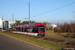 Braunschweig 1457 SL 1 Wenden Heideblick, 31.12.2016 (Tramfan2011) Tags: braunschweig tramino solaris germany deutschland strasenbahn tram tramway
