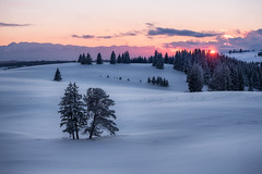 Winter sunset (emil.rashkovski) Tags: wow snow winter mountain tree mount sky clouds sunset sun colors mood nature