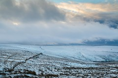 January Snow 2017 065 -  Wessenden Head (Mark Schofield @ JB Schofield) Tags: huddersfield pennines pennineway moors moorland peat nationalpark thenationaltrust marsden scammonden pulehill marchhaigh wessenden wessendenvalley meltham wessendenhead reservoir water watershed snow winter landscape bog rock ice outdoors open space panoramic canon 5dmk3 holmemoss mast