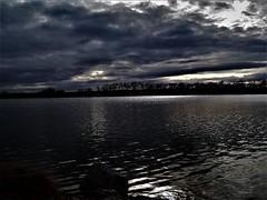 (Ashley Humiston) Tags: lake water sky skies clouds dark