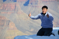 Grand Canyon 35 (Krasivaya Liza) Tags: grandcanyon grand canyon national park canyons nature natural wonder az arizona holiday christmas 2016 snowy winter cliffs cliffside edgeofcliff