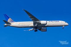 N36962 UA B789 34L YSSY-2225 (A u s s i e P o m m) Tags: kurnell newsouthwales australia au united ua boeing b789 syd yssy sydneyairport