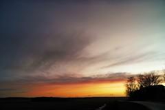 Late January (nikkorglass) Tags: lumix panasonic dmccm1 mobilephone sunset solnedgång hemma dxo nik