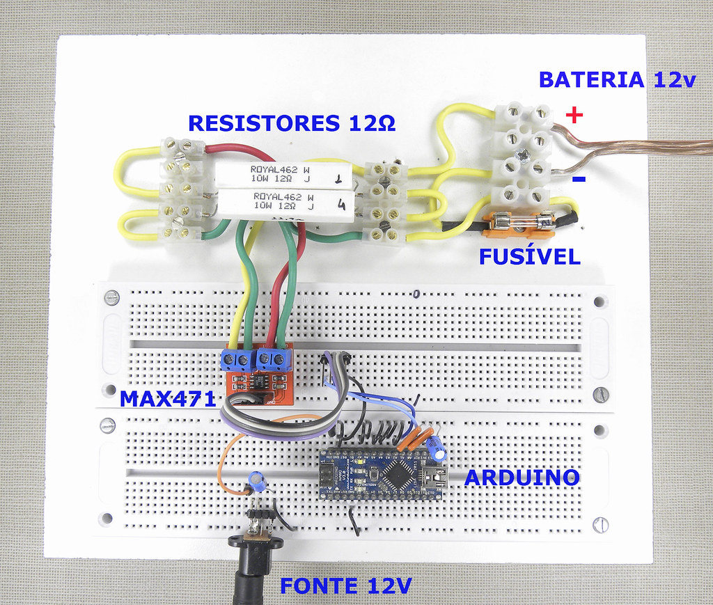The Worlds Newest Photos Of Current And Sensor Flickr Hive Mind Circuit Diagram On Eddy Max471 Montagem Gustavo Murta Tags Arduino Module Corrente Tensao Voltage