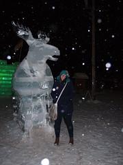 P2054624 (superba_) Tags: saranaclake wintercarnival snow winter ice icesculptures moose