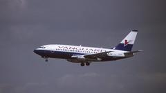 In the Vanguard to LAX (ƒliçkrwåy) Tags: n124nj boeing 737 737200 732 vanguard airlines aviation aircraft lax klax kodachrome