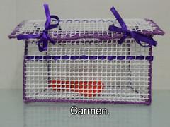 MANUALIDADES. (CarmenCordero1949) Tags: manualidades cesta carmen