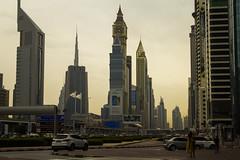 Dubai (Joan Gascon) Tags: dubai skyscrapergray plane burj khalifa city emirates