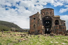 TALIN-10 (RAFFI YOUREDJIAN PHOTOGRAPHY) Tags: talin armenia armenian travel walk backpacking ferris wheel soviet church monastery ancient old ruins crumbled dilapidated abandoned derelict apocalyptic clouds graveyard