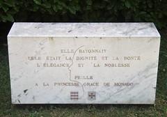 Princess Grace Garden - Saint-Martin de Peille (3D-Stretch) Tags: french riviera princess grace paca tribute hommage 06 princesse peille alpesmaritimes provencealpesctedazur