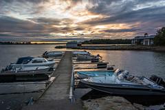 Harbor at sunset (Leonardo Piccioni) Tags: sunset sea norway harbor landscapes europe tramonto mare porto paesaggi larkollen d7100 nikkor1685 nikonclubit