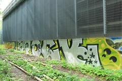 random graffiti (Thomas_Chrome) Tags: street streetart art suomi finland graffiti europe can spray chrome illegal nordic walls tampere