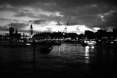 Blog-London-Sep 2015-009 (Reza Masoudi) Tags: bw thames river nightshot bigben balckandwhite riverthames