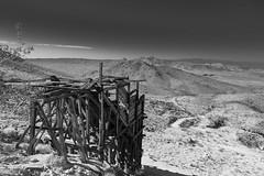 Tecopa Mines area (joeqc) Tags: california county ca bw white black monochrome canon mono mine mining bunker lead ore inyo tecopa greytones