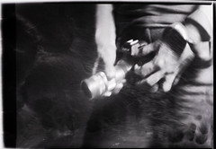 Measurbate real RAW (O9k) Tags: camera leica portrait analog lofi lightleak 4x5 analogue elmar largeformat 9x12 cameraporn genitalia measurebator baroni russianlens sovietlens sonyalpha7 industar51