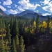 Prospect Canyon and the Mountains of the Continental Divide (Rocky Mountain National Park)