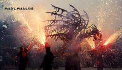 l'Esquelet diabolic I (Marcel Marsal) Tags: del catalunya popular maresme cultura torrent aniversari tradici occidental terrassa bitxo polvora trobada foc 2015 valls fum dracs bestiari espurnes diablic lesquelet 30 mitger