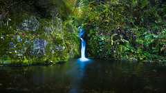 Wasserfall (Sijie Shen) Tags: autumn trees black color leaves horizontal forest germany landscape waterfall europe long exposure image schwarzwald oppenau