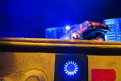 Corgi Toys Buick (Century) Regal Police Car No. 416 Converted Into A Futuristic Sci-Fi Hover Car : Diorama A Hover Police Car City Scene - 29 Of 98 (Kelvin64) Tags: city car century toys buick corgi no police scene scifi converted futuristic regal diorama hover 416 a into