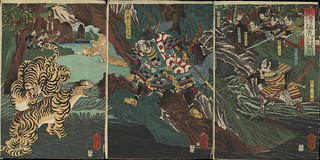 yoshitoshi_kato_kiyomas_hunting_tigers_kore_during_imjim_war