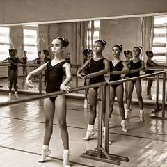 Girls At The Barre
