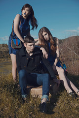 Rolton&McCarthy2 (Sarah Kate Photography) Tags: blue fashion magazine collaboration vatra