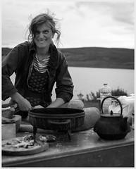 _DSF5109 (alexcarnes) Tags: portrait cooking alex archaeology rose festival 35mm joseph fuji f14 anderson prehistoric caithness carnes yarrows xpro1 alexcarnes