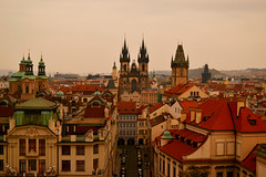 Prague (merimamyan) Tags: prague fromabove czechrepublic cityfromabove