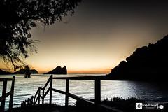 Escalera al paraiso (Miguel Angel Lillo Fotografa) Tags: espaa mar nikon murcia amanecer tamron isla mediterrneo aguilas fraile d3200 1750mm28