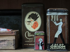 Cacao (Swaalfke) Tags: union orion tins droste blikjes