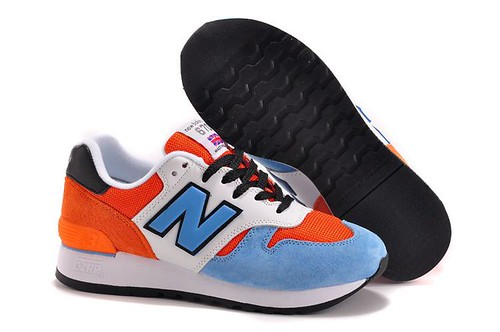 2015 New Balance M670FSU Chinese Zodiac Horse Blue Navy Red Mens Sneakers