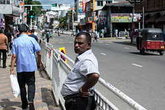 Man Waiting (Aadil Chouji Schiffer) Tags: road street city people man person photography waiting village fat poor working hard streetphotography sri lanka srilanka ceylon resting roads kandy kandyan togger streettogger