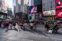 Times Square, NYC (nianci pan) Tags: street city nyc urban newyork landscape cityscape manhattan sony broadway timesquare pan screens    sonyalphadslr nianci sonyphotographing