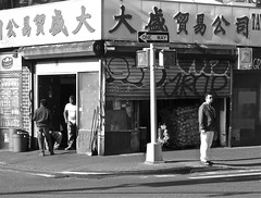 Chinatown Street Corner (elbrozzie) Tags: nyc newyorkcity chinatown manhattan lowereastside