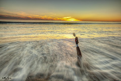 Thanksgiving 2015 (The Byrne Files) Tags: thanksgiving longexposure sunset sky beach waves fork pacificocean manikinarm