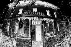 Monster House (CB-Photos) Tags: house halloween monster dark lost alone place sony fisheye 8mm walimex darkside slt urbex a58