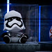 First Order Stormtrooper plushie with a verdict