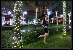 nEO_IMG__MG_2495 (c0466art) Tags: christmas light portrait white black reflection girl beautiful rain fashion night canon wonderful happy photo big colorful julia image sweet taiwan event taipei lamps annual lovely cloth charming russian favor decroration goegeous 1dx c0466art